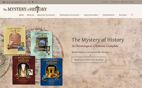 Christian world history curriculum the mystery of history gumiabroncs Choice Image