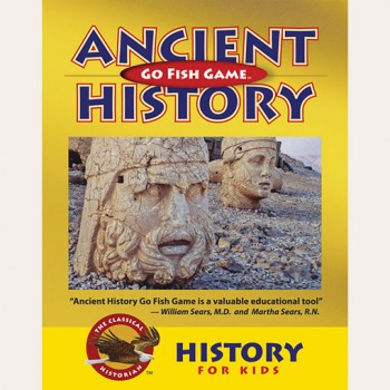 Ancient History Go Fish Card Game