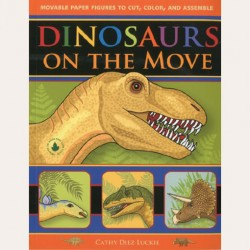 Dinosaurs on the Move Moveable Paper Figures
