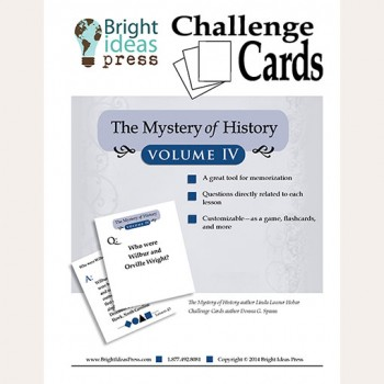 The Mystery of History Volume IV Challenge Cards