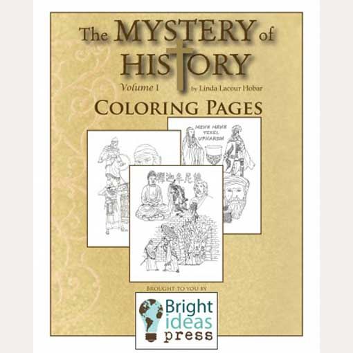 """The Mystery of History Volume I """"Coloring Pages"""" 