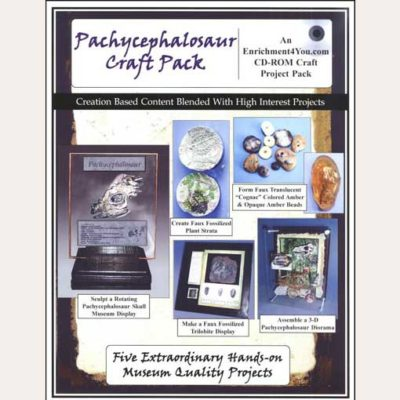 Dinosaur Project - Pachycephalosaur Craft Pack