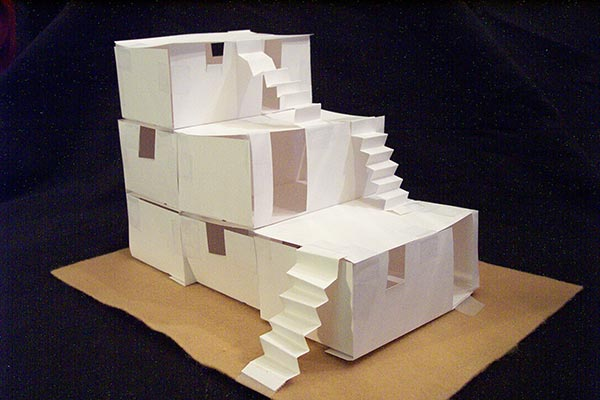 build a paper pueblo house the mystery of history