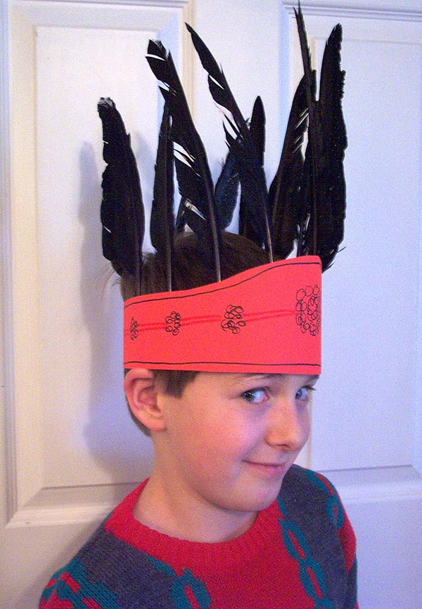 Indian Feather Headpiece