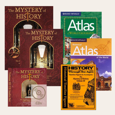 The Mystery of History Best-Seller Bundle Volume III #1