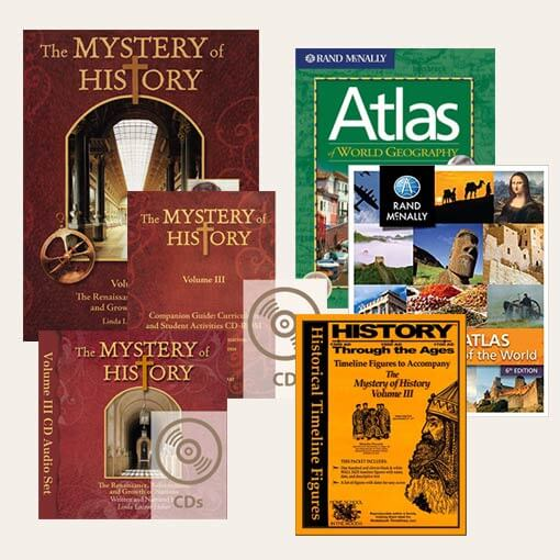 Mystery Of History 2: Best-Seller Bundle: The Mystery Of History Volume III #2