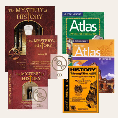 The Mystery of History Best-Seller Bundle Volume III #2